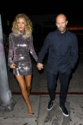 Rosie Huntington-Whiteley and Jason Statham at The Nice Guy