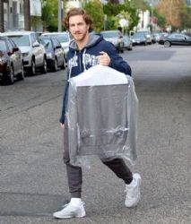 Eugenio Siller: out and about