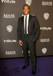 Anthony Mackie: InStyle And Warner Bros. Golden Globes 2015 Party