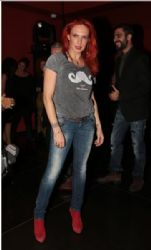 Evelina Papoulia: ANT1 channel programme presentation party
