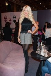 Victoria Silvstedt at Her Lingerie Expo