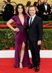 Joe Lo Truglio and Beth Dover: 21st Annual Screen Actors Guild Awards - Arrivals