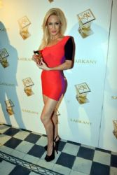 Luciana Salazar: new fragrance presentation