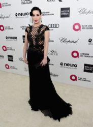 Dita Von Teese: Elton John AIDS Foundation Oscars 2015 Viewing Party