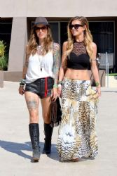 Audrina Patridge – Seen at the Hard Rock Hotel in Palm Springs