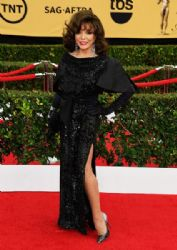Joan Collins: 21st Annual Screen Actors Guild Awards - Arrivals