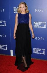 Kristen Bell wears Andres GN - The Hollywood Foreign Press Association Installation Dinner