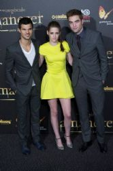 "Kristen Stewart, Robert Pattinson and  Taylor Lautner: ""The Twilight Saga: Breaking Dawn Part 2"" took over Madrid"