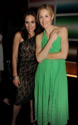 Kelly Rutherford With Kara DioGuardi