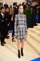 Jennifer Connelly in  Louis Vuitton Dress : 2017 Met Gala