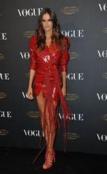 Izabel Goulart attends the Vogue 95th Anniversary Party on October 3, 2015 in Paris, France