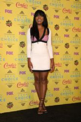 Keke Palmer at the Teen Choice Awards 2015 at the USC Galen Center on August 16, 2015 in Los Angeles