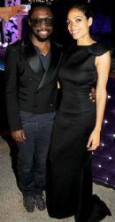 Rosario Dawson and Will.I.Am