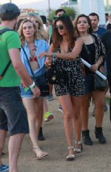 Nina Dobrev: attend Day 2 of the second weekend of The Coachella Valley Music and Arts Festival in Indio