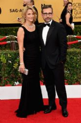 Steve Carell and Nancy Carell : 21st Annual Screen Actors Guild Awards - Arrivals