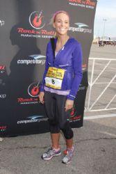 Kate Gosselin: at the Zappos.com Rock 'n Roll Las Vegas Marathon held on the Las Vegas Strip in Las Vegas