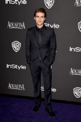 Paul Wesley: InStyle And Warner Bros. Golden Globes 2015 Party