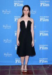 Felicity Jones wears Osman - Cinema Vanguard Award Ceremony