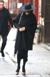 Vanessa Hudgens: steps out in chilly New York City