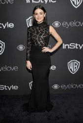 Lucy Hale: The 2017 InStyle and Warner Bros. 73rd Annual Golden Globe Awards Post-Party - Red Carpet
