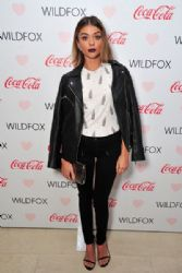 Sarah Hyland: attends the Launch Party for WILDFOX Loves Coca-Cola Capsule Collection in West Hollywood