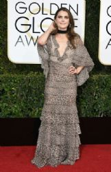 Keri Russell in J. Mendel  : 74th Annual Golden Globe Awards