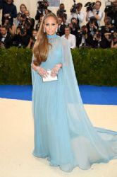 Jennifer Lopez  in Valentino Dress :  2017 Met Gala