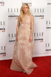 Ellie Goulding wears Alberta Ferretti - Elle Style Awards 2015