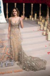 Emma Watson in  Elie Saab Dress :  'Beauty and the Beast' - Shanghai Premiere