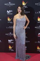 Penélope Cruz in Versace Dress :  'La Reina de Espana' Premiere
