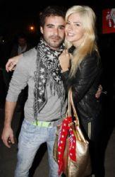Eugenia Suarez and Nicolas Cabre: concert look