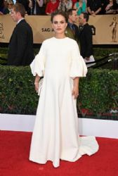 Natalie Portman wears Christian Dior Dress : 23rd Annual Screen Actors Guild Awards
