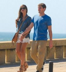 Iker Casillas and Sara Carbonero: first look in Porto, Portugal