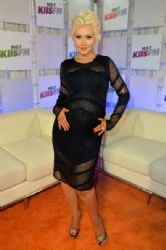 Christina Aguilera wears Roberto Cavalli - 102.7 KIIS FM's 2014 Wango Tango