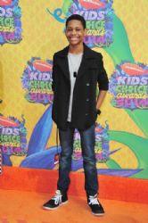 Tyrel Jackson Williams: Nickelodeon's 27th Annual Kids' Choice Awards - Red Carpet