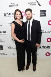 Jack Osbourne and Lisa Osbourne: Elton John AIDS Foundation Oscars 2015 Viewing Party
