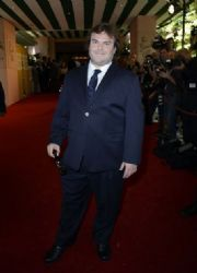 Jack Black at Hollywood Foreign Press Association's Installation Luncheon (August 9)