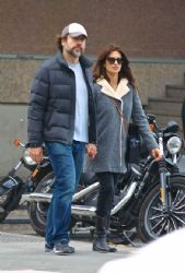 Javier Bardem and Penelope Cruz: out and about