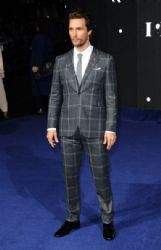 Matthew McConaughey attends the European premiere of