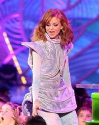 Jayma Mays: Nickelodeon's 27th Annual Kids' Choice Awards - Show