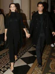 Sakis Rouvas and Katia Zygouli: fashion show