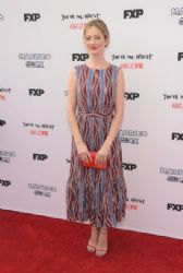 Judy Greer wears Suno - FX's 'You're The Worst' and 'Married' Premiere