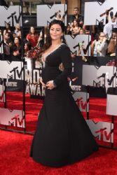 Jenni 'Jwoww' Farley: 2014 MTV Movie Awards - Arrivals