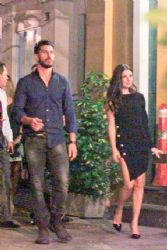 Uriel del Toro and Isis Valverde: night out