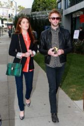 Nikki Reed & Paul McDonald Arrive at the Independent Spirit Awards