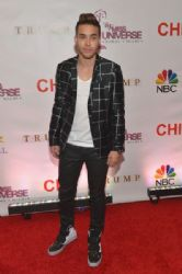 Prince Royce: The 63rd Annual Miss Universe 2014 Pageant Red Carpet