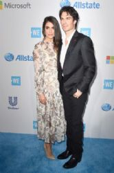 Nikki Reed and Ian Somerhalder : WE Day California