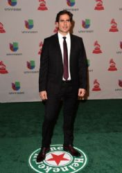 Daniel Arenas: Green Carpet Arrivals at the Latin Grammy Awards 2014