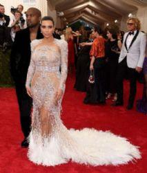 Kim Kardashian wears Roberto Cavalli - 2015 Met Gala