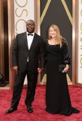 Bianca Stigter and Steve McQueen: 86th Annual Academy Awards
